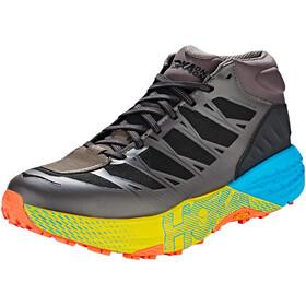 Hoka One One Speedgoat Mid WP - Zapatillas running Hombre - gris